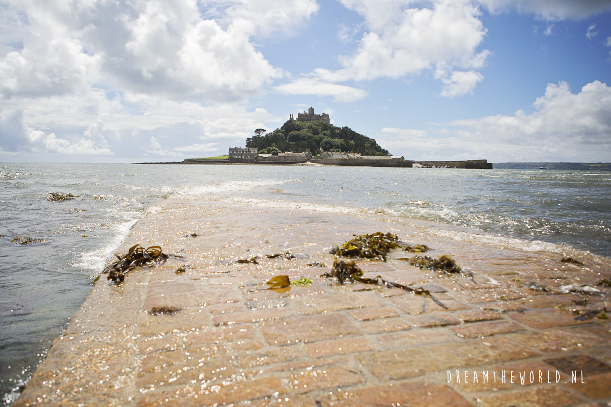 St. Michaels Mount Cornwall Engeland