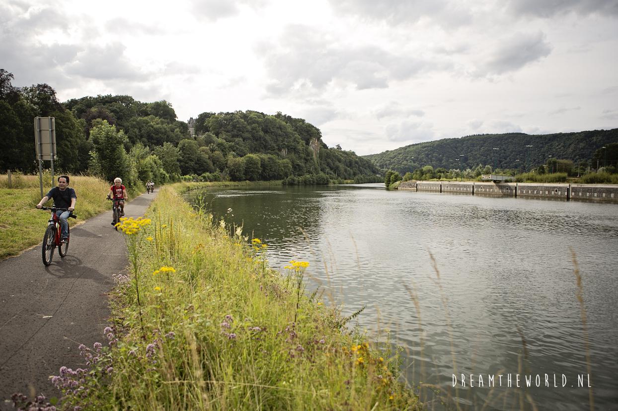 fietsen in Wallonië