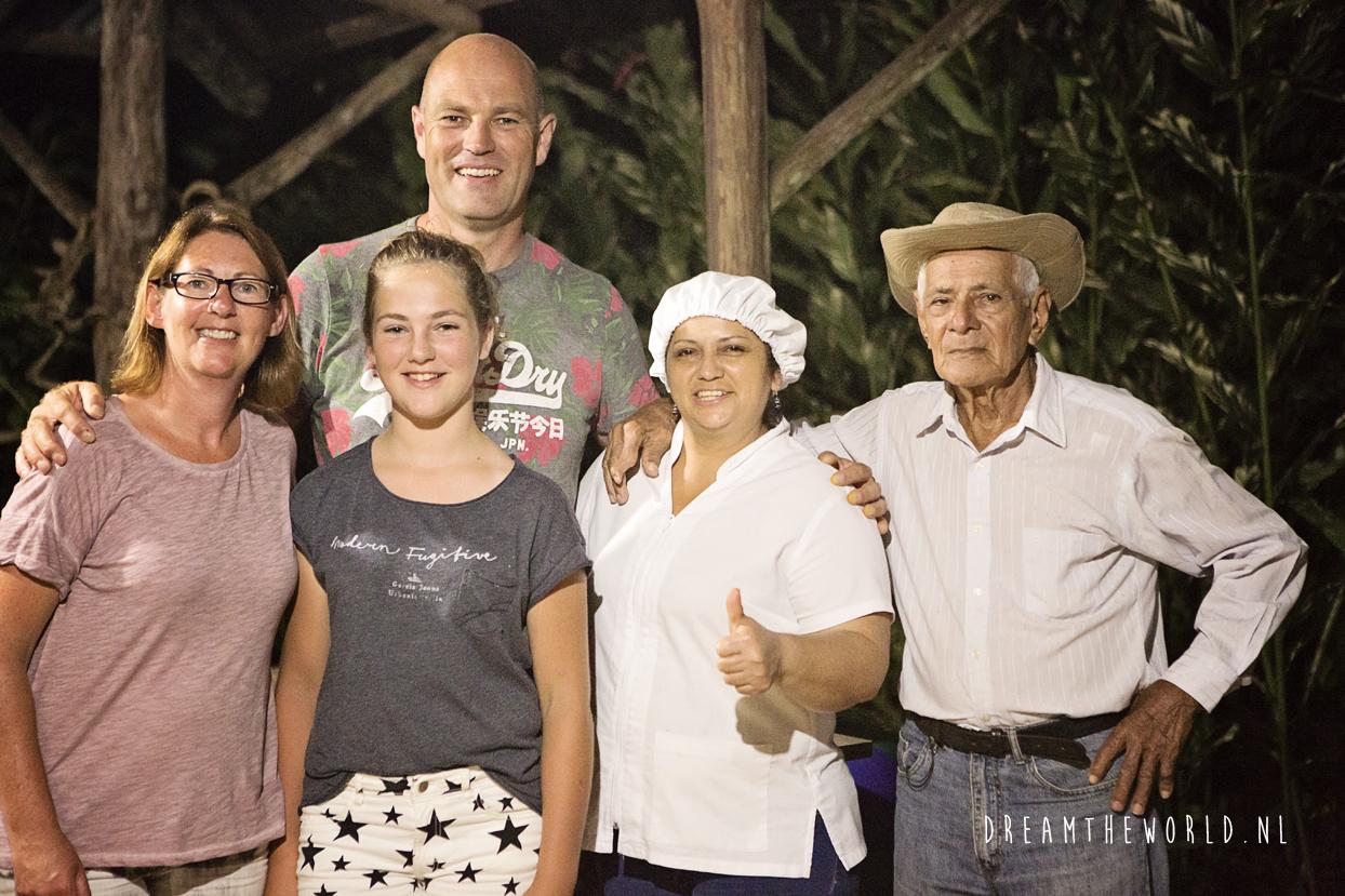 Kookworkshop bij locals in Costa Rica