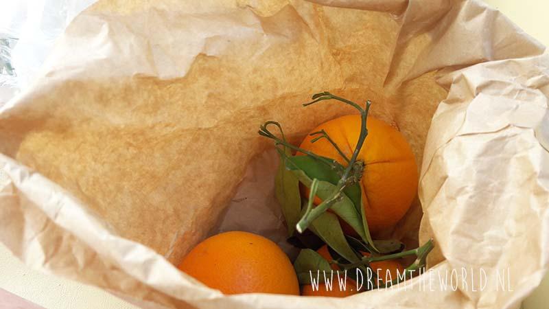 Amalfikust Italië sinaasappels