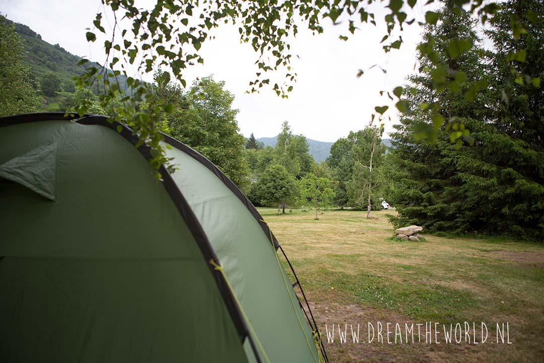 Camping Ascou la Forge kampeerterrein