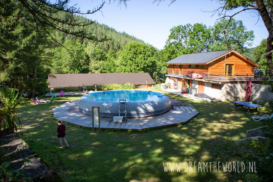 raften Aude Pyreneeën Frankrijk