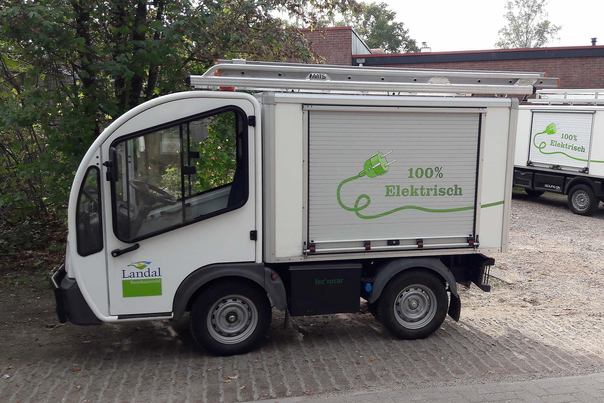 Elektrische wagens Landal