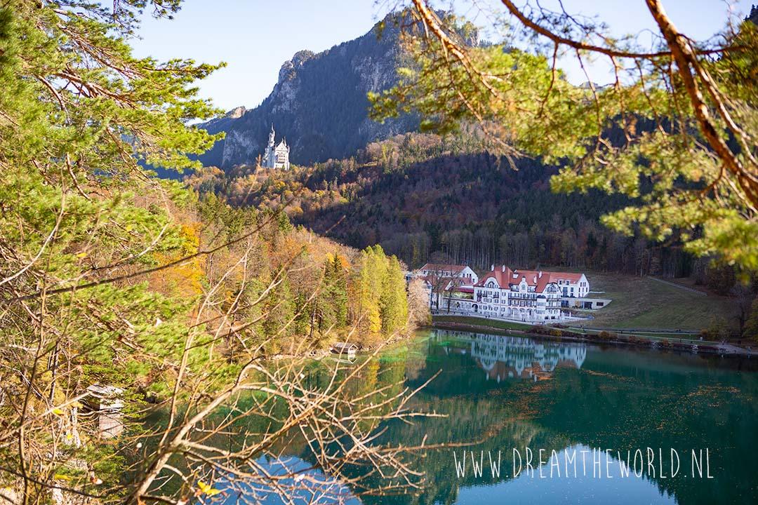 Wandelen Füssen Duitsland Alpsee