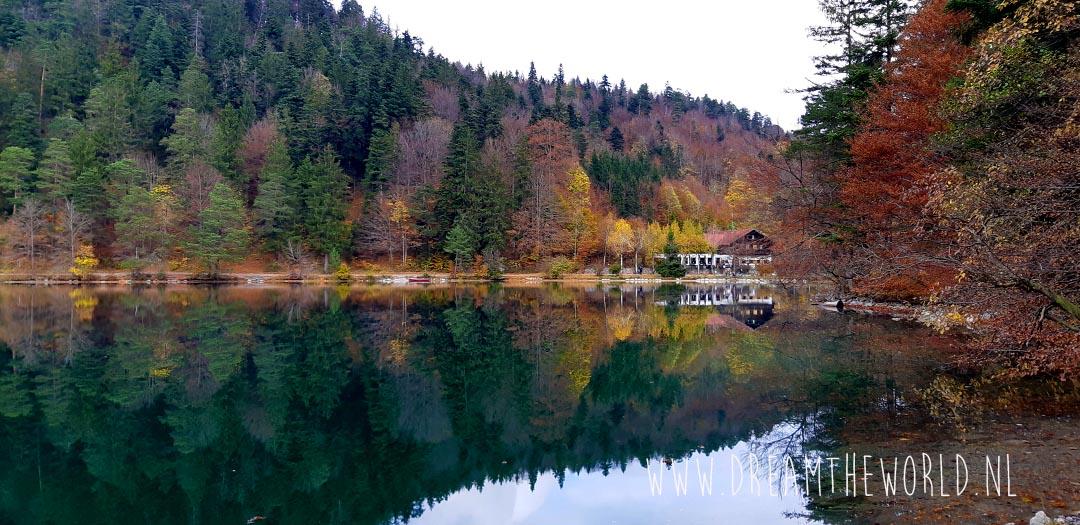 Wandelen Füssen Duitsland Alatsee