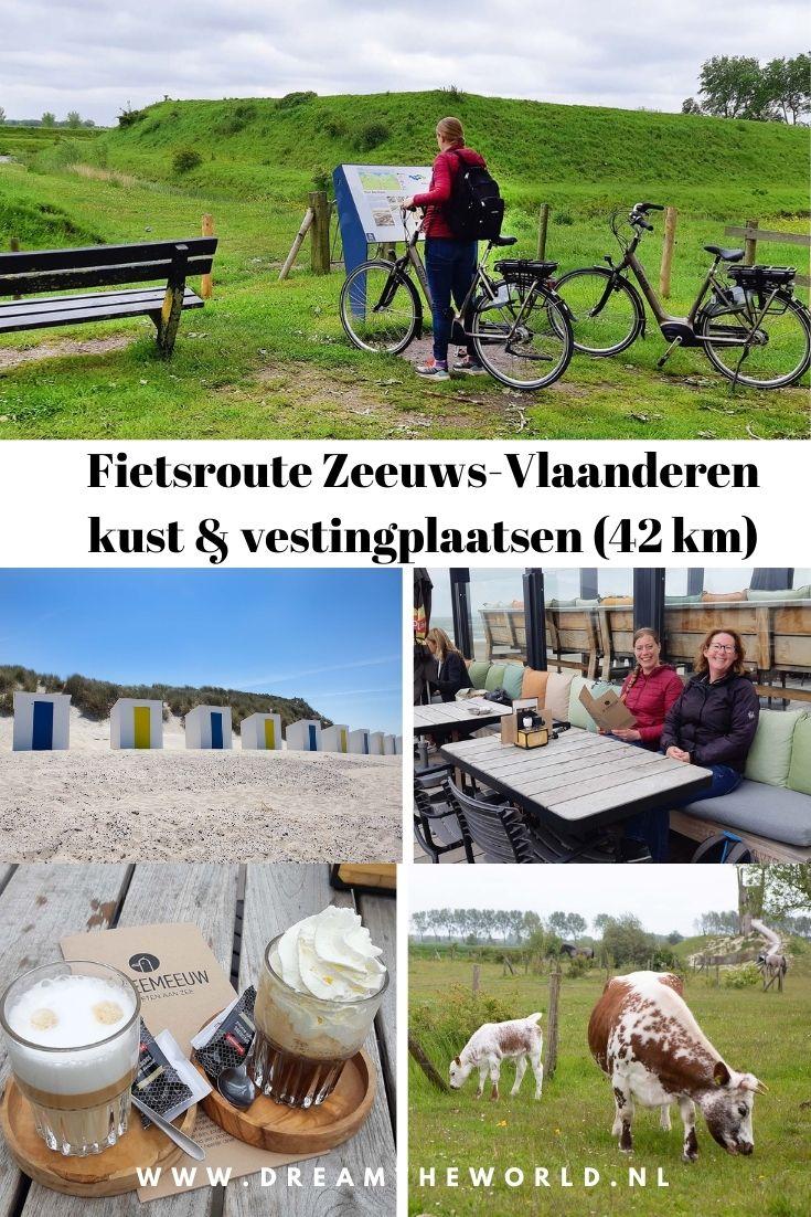 Pin Fietsroute in Zeeuws-Vlaanderen