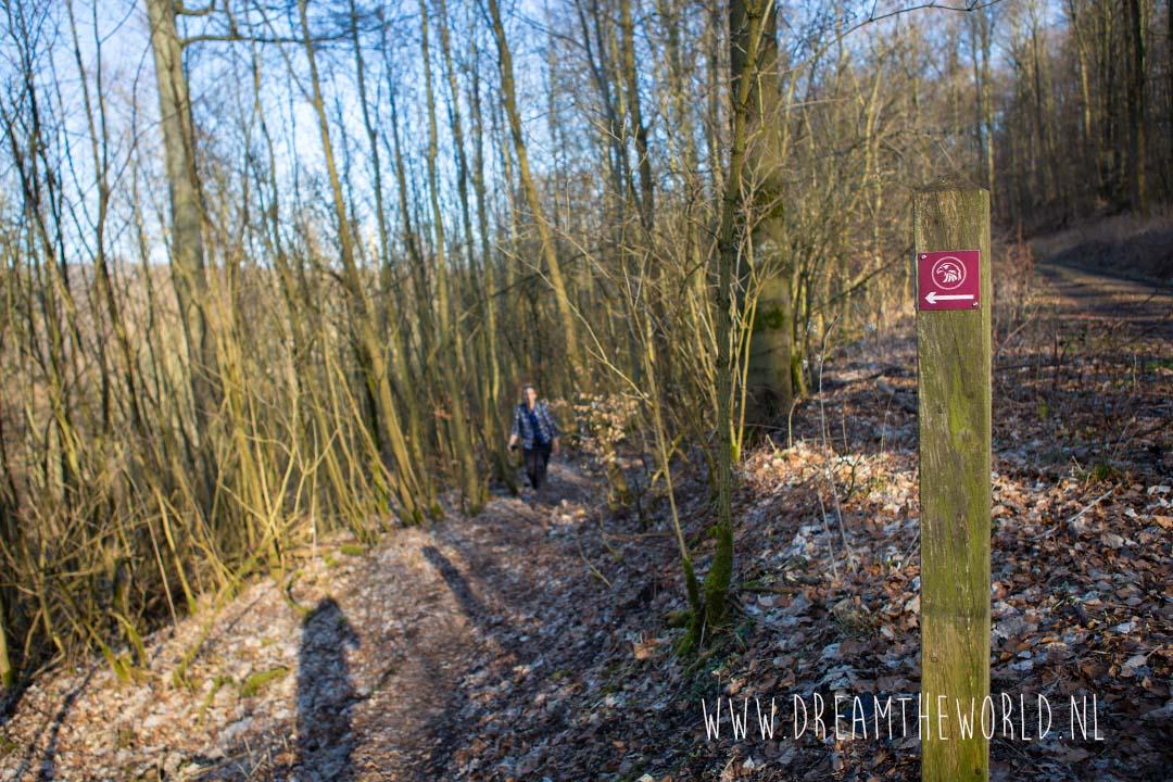 Bewegwijzering Habichtswaldsteig