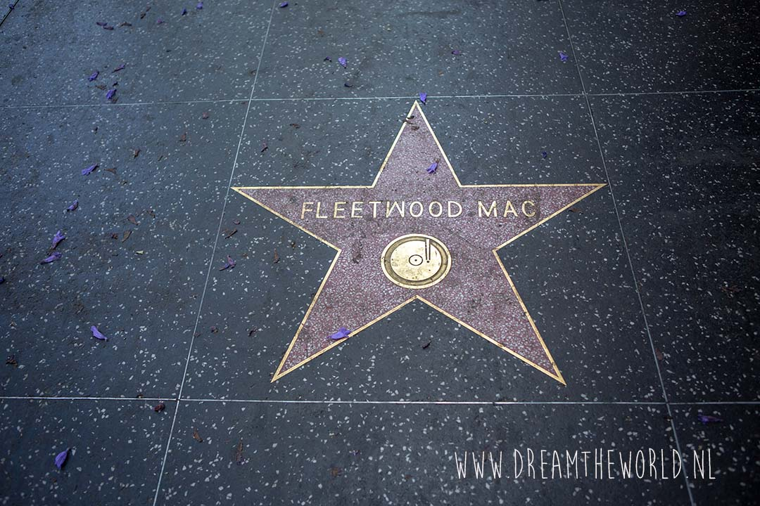 Walk of Fame Hollywood USA