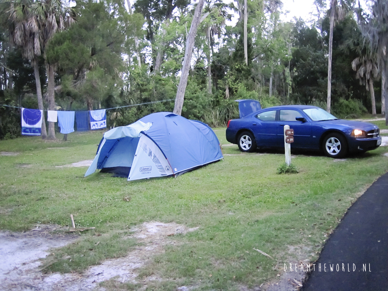 Camping Crystal River
