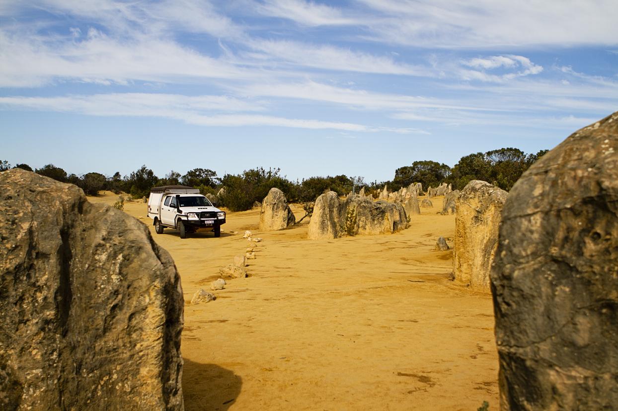 The Pinnacles Nambung National Park Australië
