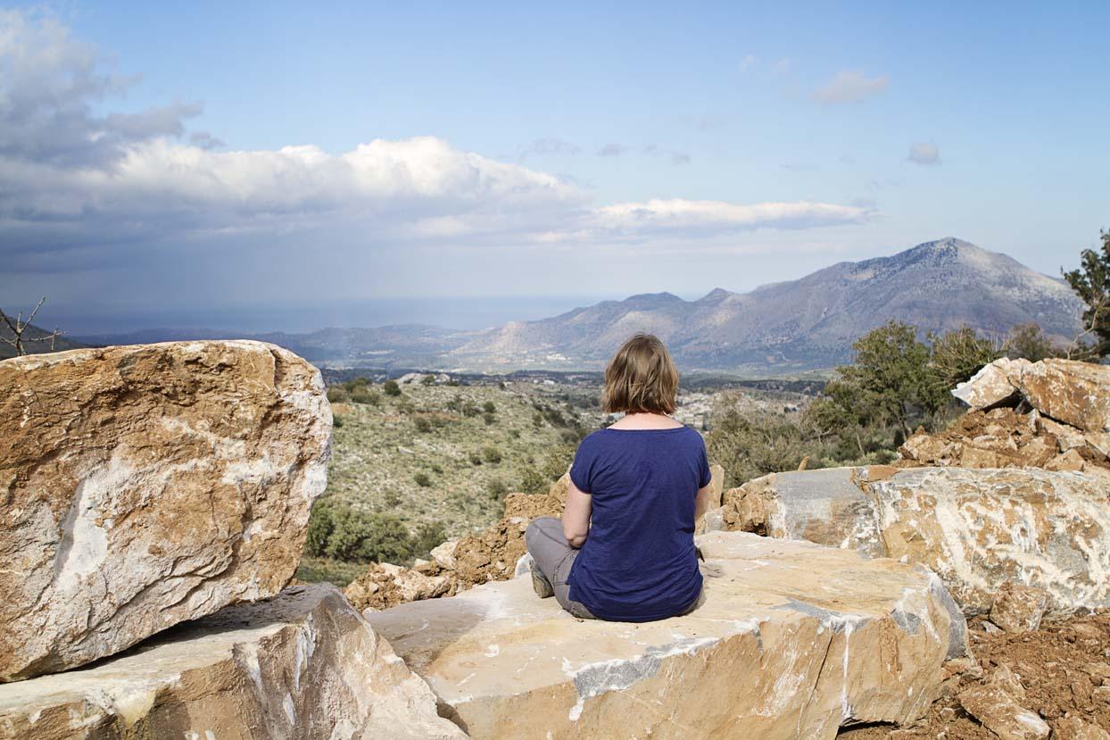 Kreta ongebaande paden