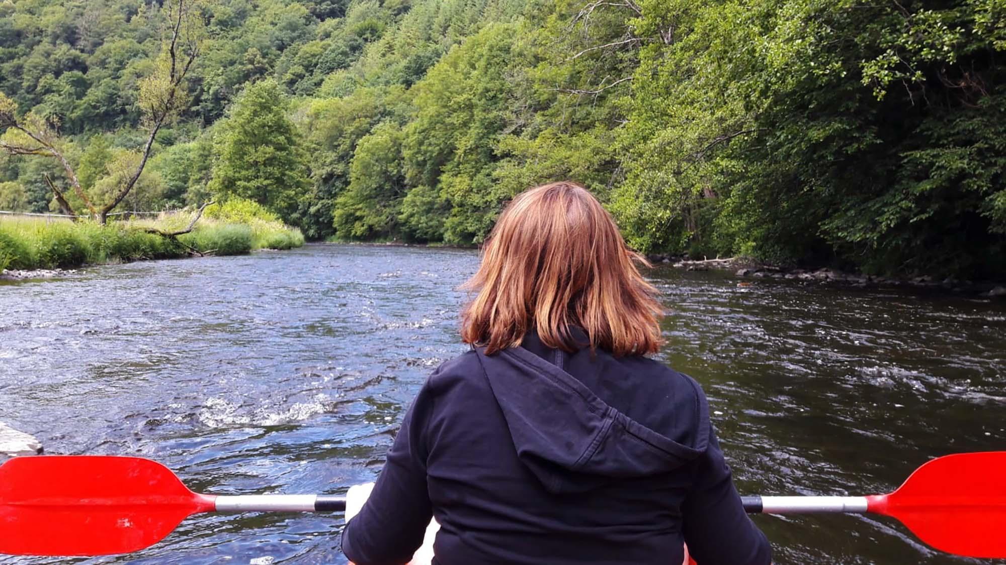 Kanoën Ardennen Ourthe