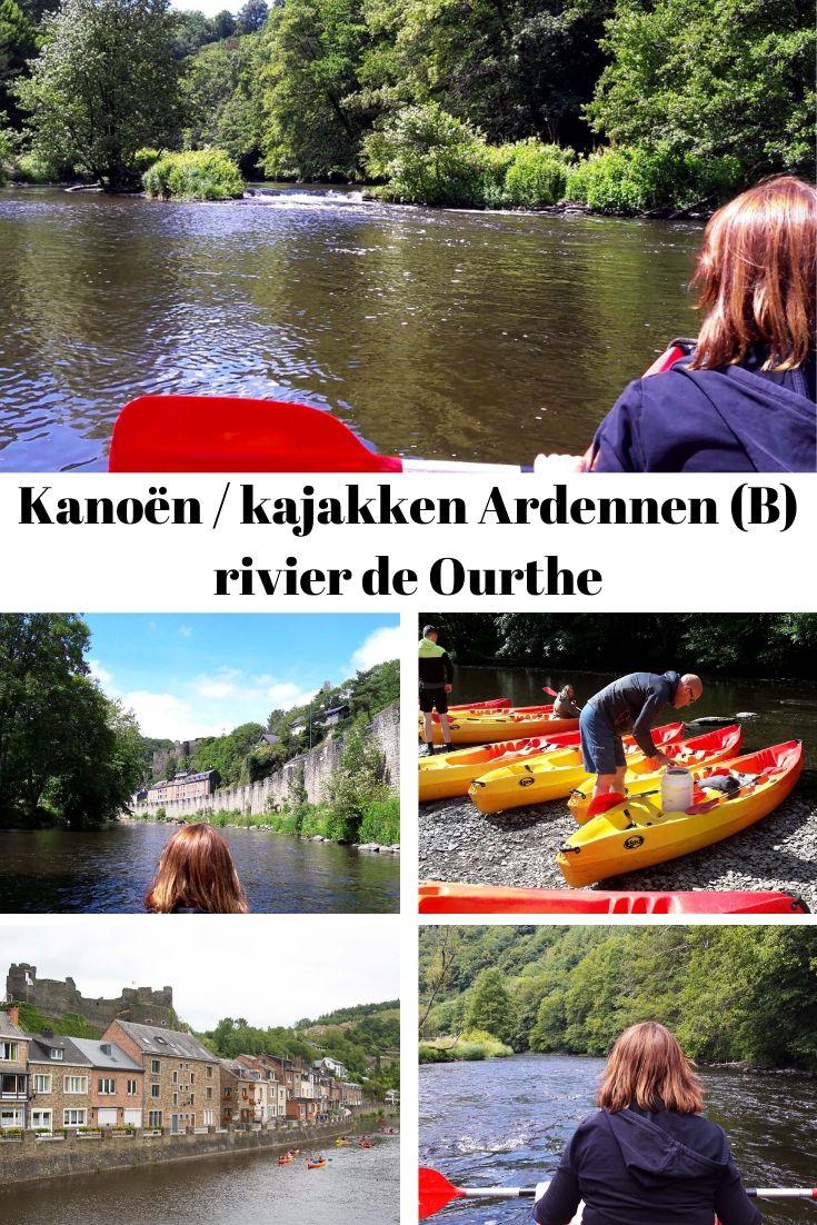 Kanoën Ourthe Ardennen