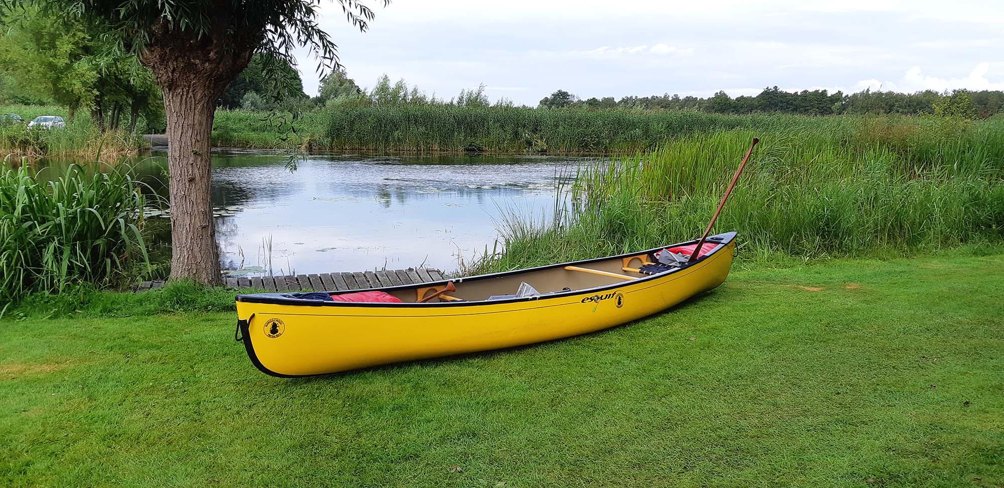 Paklijst meerdaagse kano kampeertocht in Nederland