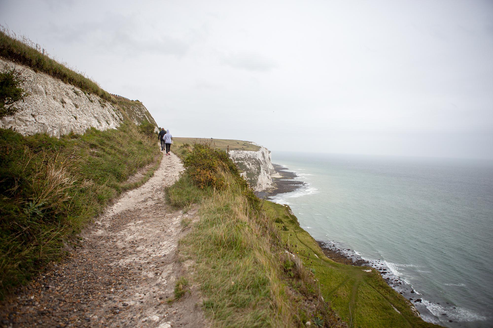 Krijtrotsen Dover Zuid-Engeland