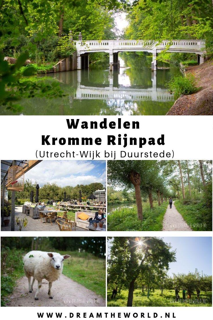 Wandelen langs het Kromme Rijnpad, van Utrecht naar Wijk bij Duurstede