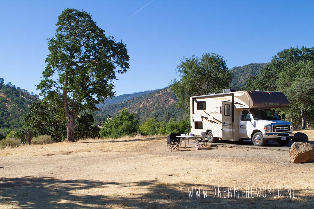 Lake del Valle campground