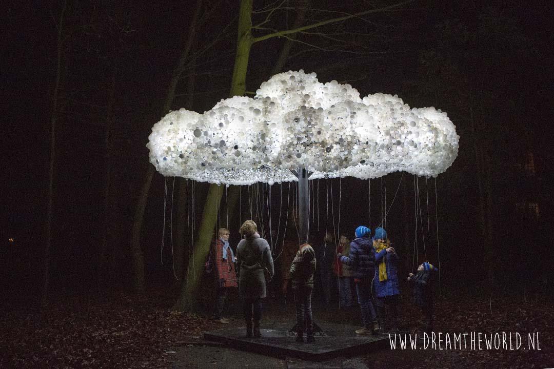 Internationaal Lichtkunstfestival Slot Zeist