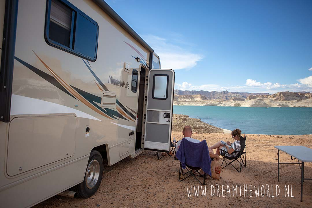 Lake Powel campground
