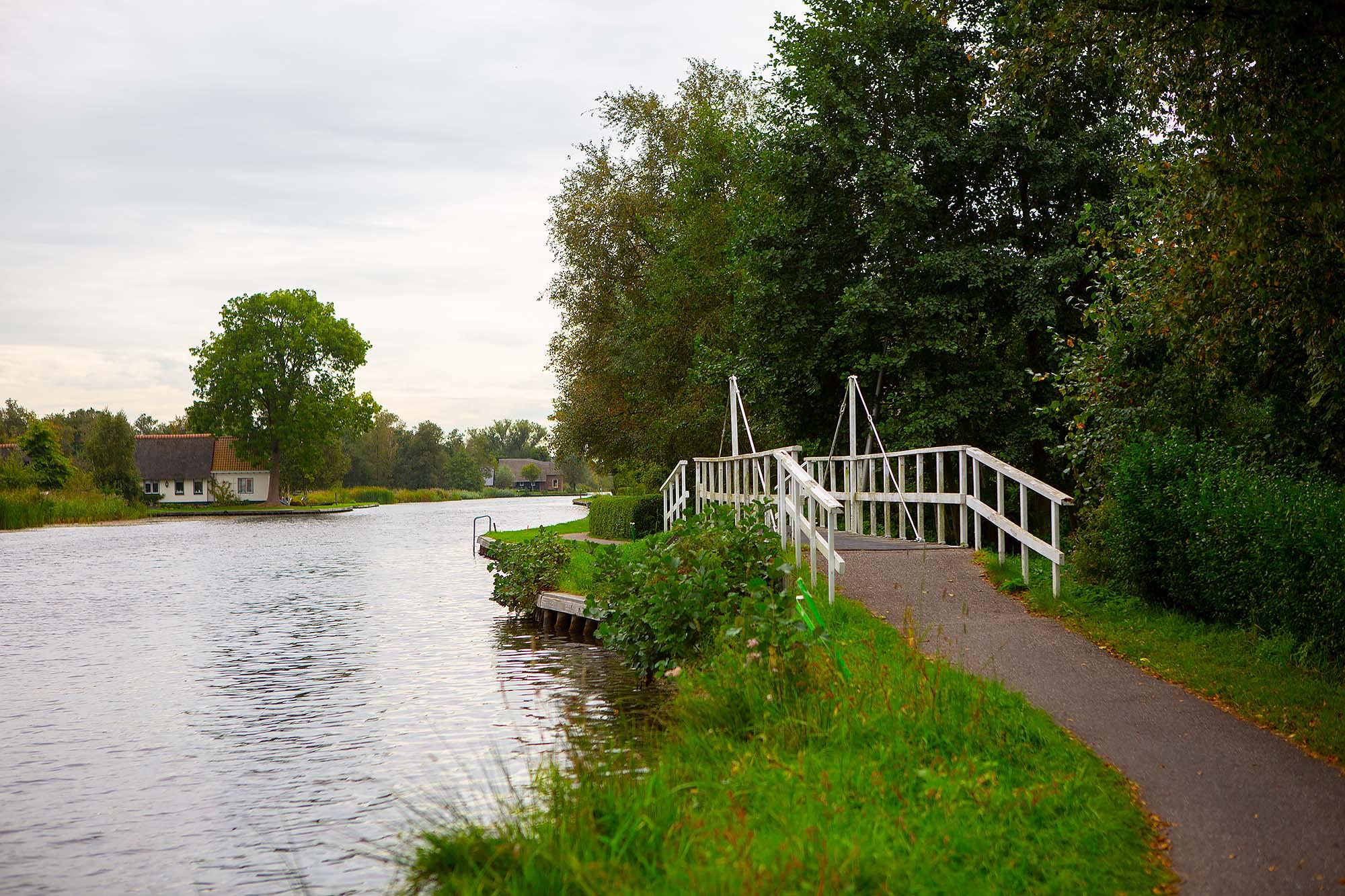 Nationaal Park Weerribben-Wieden fietsroute
