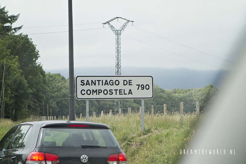 De weg naar Pamplona