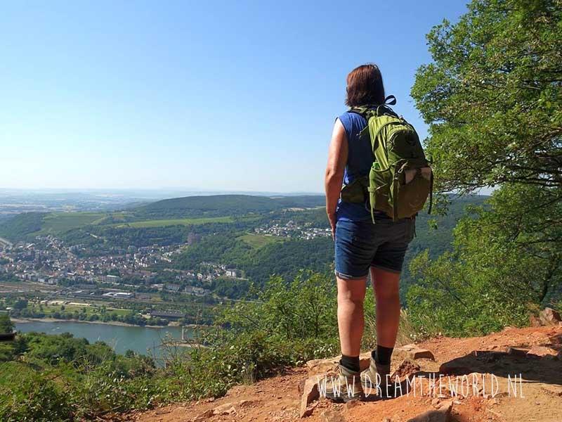 Wandelen in Europa 3 dagen wandelroute Rheinsteig Duitsland