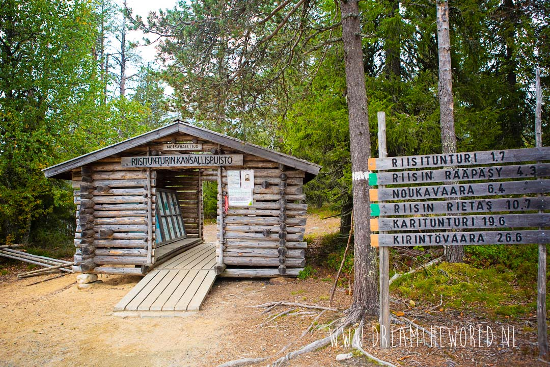 Riisitunturi NP Fins Lapland wandelroutes