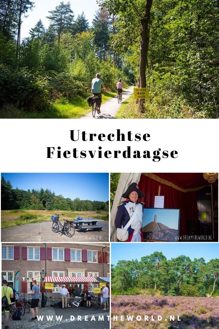 Utrechtse Fietsvierdaagse. Fietsen langs kastelen, buitenplaatsen, forten, militair erfgoed en mooie natuur #fietsroute
