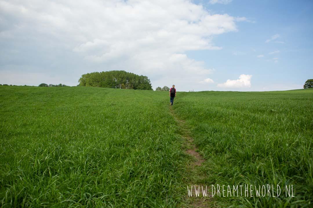 Wandelroute langs kerkepad Wolfhaag