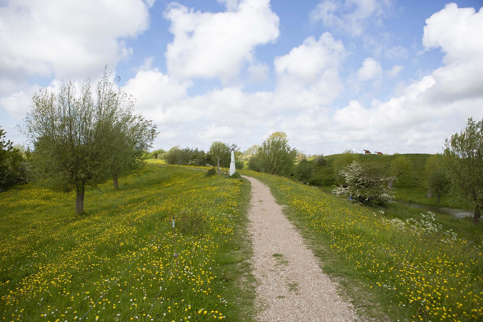 Wallenroute Retranchement Zeeuws-Vlaanderen