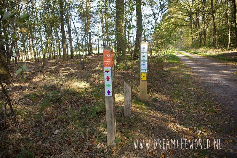 Wandelen Sallandse Heuvelrug startpunt Haarle