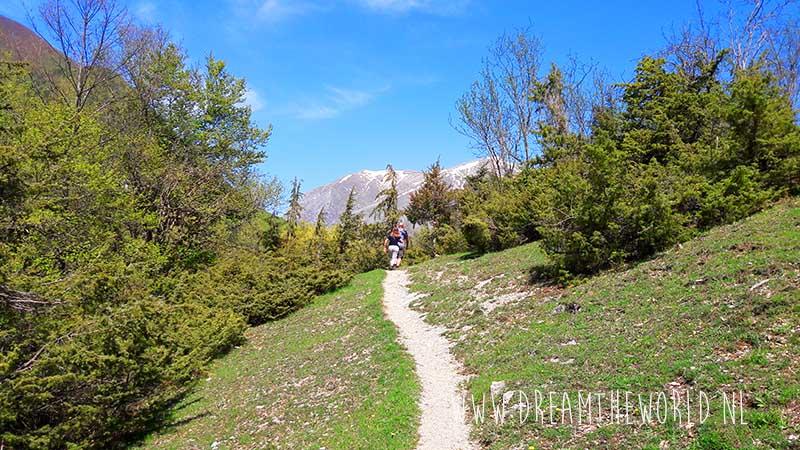 Wandelen in Europa Abruzzo Italië