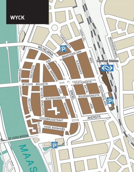 wyck-plattegrond bron: vvvmaastricht.nl